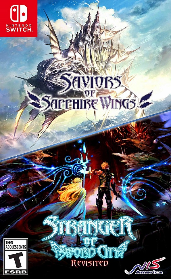 Saviors of Sapphire Wings ; Stranger of Sword City Revisited